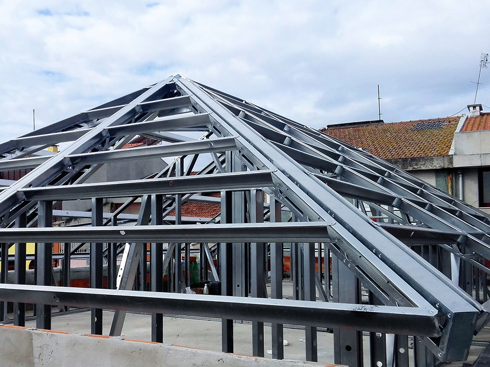 Coberturas / Lages - Light Steel Framing